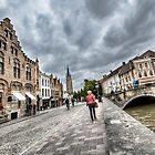 Strolling around Bruges Streets by Marc Garrido Clotet