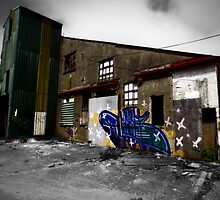 Industrial StreetArt by CHINOIMAGES