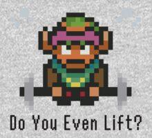 Do You Even Lift? 16-bit Link Edition v2 Kids Clothes