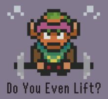 Do You Even Lift? 16-bit Link Edition v2 Kids Tee