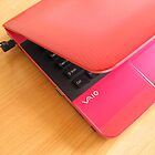 My Pink Laptop by Anaa