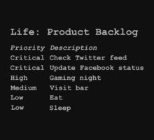 Life - Product Backlog by AdTheBad