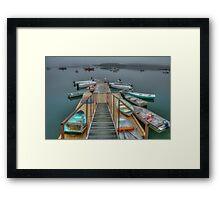 Wharf 6B 8454 Framed Print