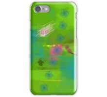 Walking through the fields iPhone Case/Skin