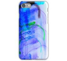 inverted Melting Sun with Spastic Solar Rays in SPACE!!!! iPhone Case/Skin