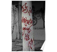 If it Disturbs you, it's Art Poster
