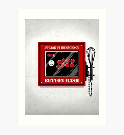 Button Mash Art Print