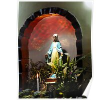 Grotto Of The Blessed Virgin Poster