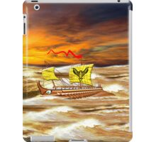 7th to the 4th century BCE Greek Trireme iPhone/iPad iPad Case/Skin
