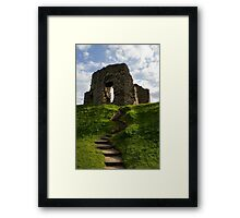 """Christchurch Castle - UK"" Framed Print"