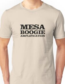 Mesa Boogie Black Unisex T-Shirt