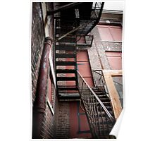 Stairs to Nowhere Poster