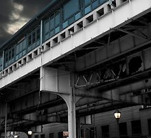 New York Subway Overpass by cthomas888