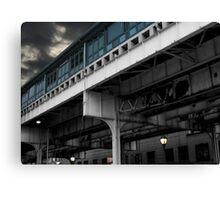 New York Subway Overpass Canvas Print