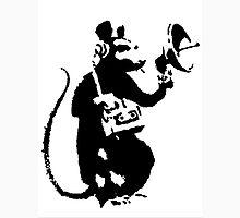 Banksy Mouse Stencil Unisex T-Shirt