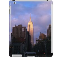 Empire State at Sunset iPad Case/Skin