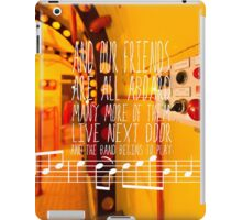 Yellow Submarine - The Beatles - Lyric Poster iPad Case/Skin