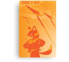 Become a Arwing pilot Canvas Print