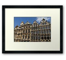 Postcard from Brussels  Framed Print