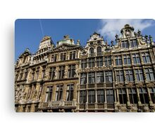 Postcard from Brussels  Canvas Print