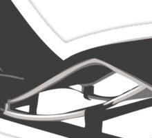 Le Corbusier Chaise-Longue Sticker