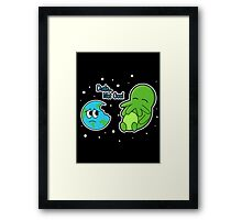 Cthulhu… Not Cool Framed Print