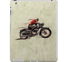 VINTAGE MOTORCYCLE ART iPad Case/Skin