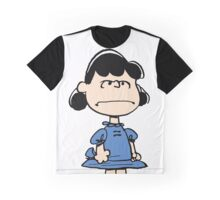 Angry Lucy Graphic T-Shirt
