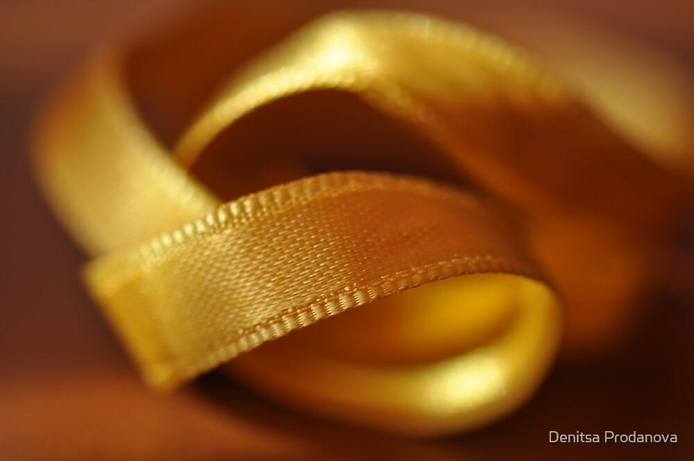 Golden gift by Denitsa Prodanova