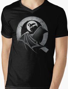 The Dark Quail Mens V-Neck T-Shirt