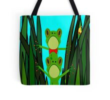 Hugo & Hector in the reeds. Tote Bag