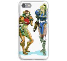 Metroid prime X street Fighter iPhone Case/Skin