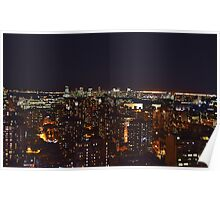 New York City Nightscape Poster