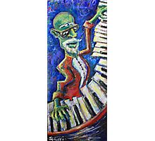 The Acid Jazz Jam - Piano Photographic Print