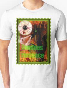 zombies romance T-Shirt