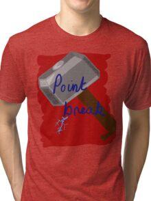 """No hard feelings, Point Break..."" Tri-blend T-Shirt"