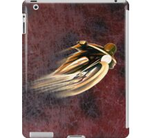 VINTAGE MOTORCYCLE ADVERTISING ART. iPad Case/Skin