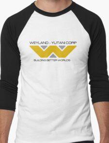 Weyland Yutani Corp Men's Baseball ¾ T-Shirt