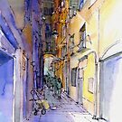 Vicolo di Genova by Luca Massone  disegni