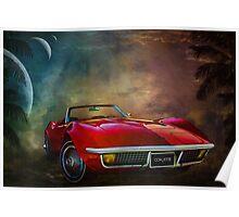Chevrolet Corvette1972 Poster