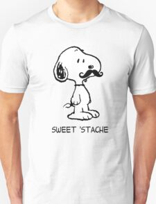 Mustache Snoopy T-Shirt