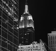 Empire State Building at Night by VDLOZIMAGES