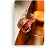 Monday morning cup of tea Canvas Print