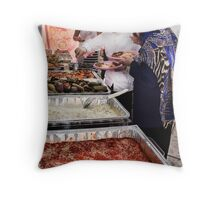 Tradition in Modern Times Throw Pillow
