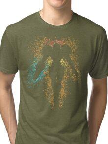 Samus Aran Varia Suit Tri-blend T-Shirt