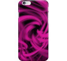 Swirl (Pink) iPhone Case/Skin