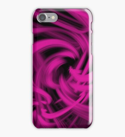 Swirl (Pink) iPhone Case/Skin