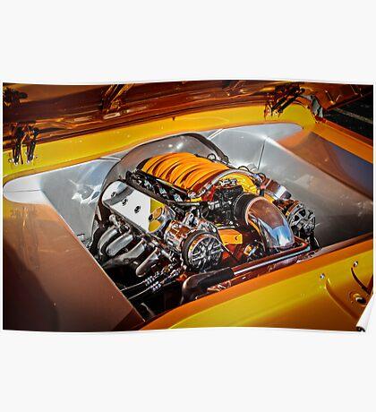 Orange Motor Poster