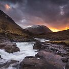 River Etive, Glen Etive by Brian Kerr