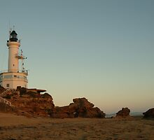 Joe Mortelliti Gallery - Dusk, Point Lonsdale lighthouse, Bellarine Peninsula, Victoria, Australia. by thisisaustralia